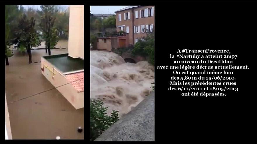 INONDATIONS ce 23 novembre 2019 dans le Var et dans l'Ouest des Alpes-Maritimes #Inondations #Var